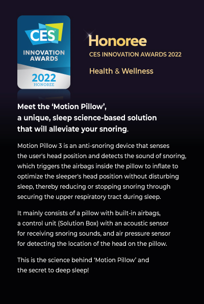 Honoree -CES INNOVATION AWARD 2020 - Health & Wellness
