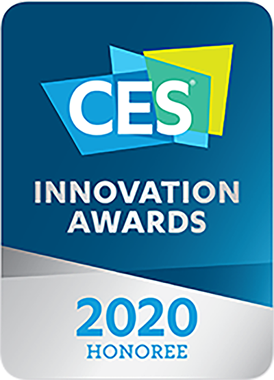 CES - innovation awards 2020 HONOREE